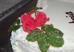 Hochzeitstorte ... auf die Frische kommt es an ...